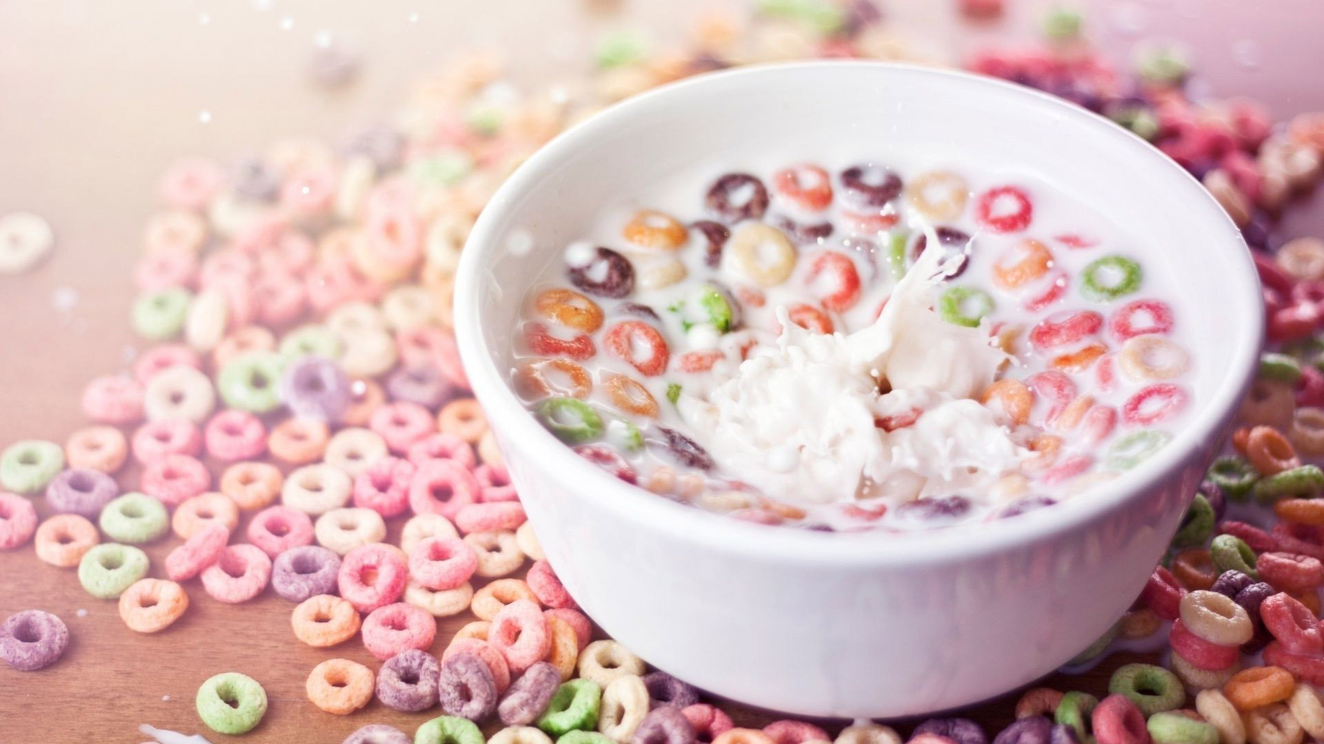 Awesome Cereal Bowl Wallpaper 38909 1920x1080 px ~ fond ecran