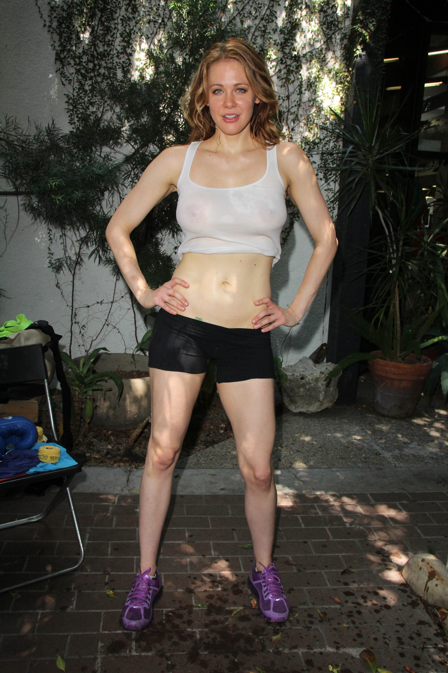 Maitland Ward Work-Out Photoshoot à West Hollywood