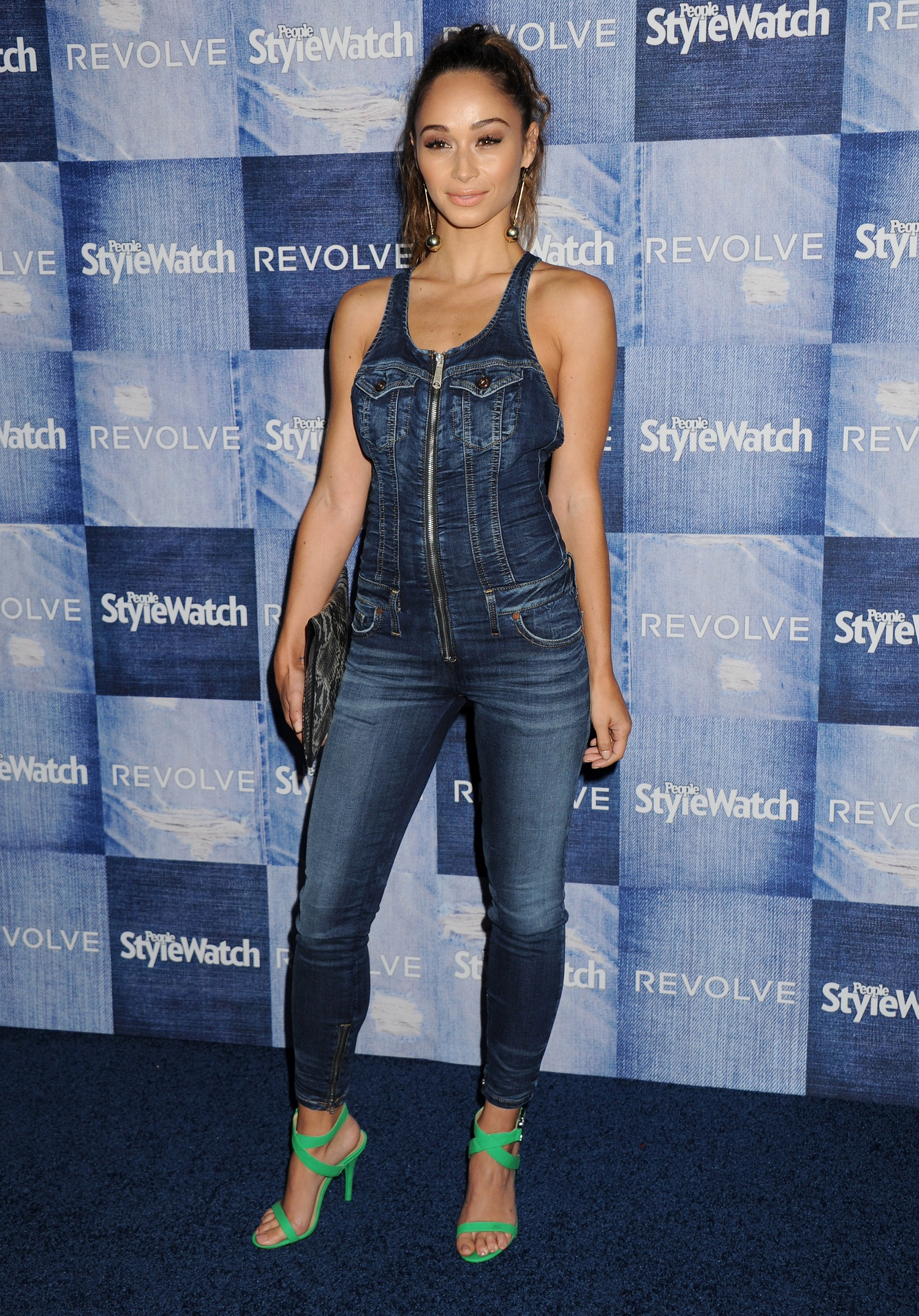 Cara Santana at People StyleWatch 4th Annual Denim Party à Los Angeles