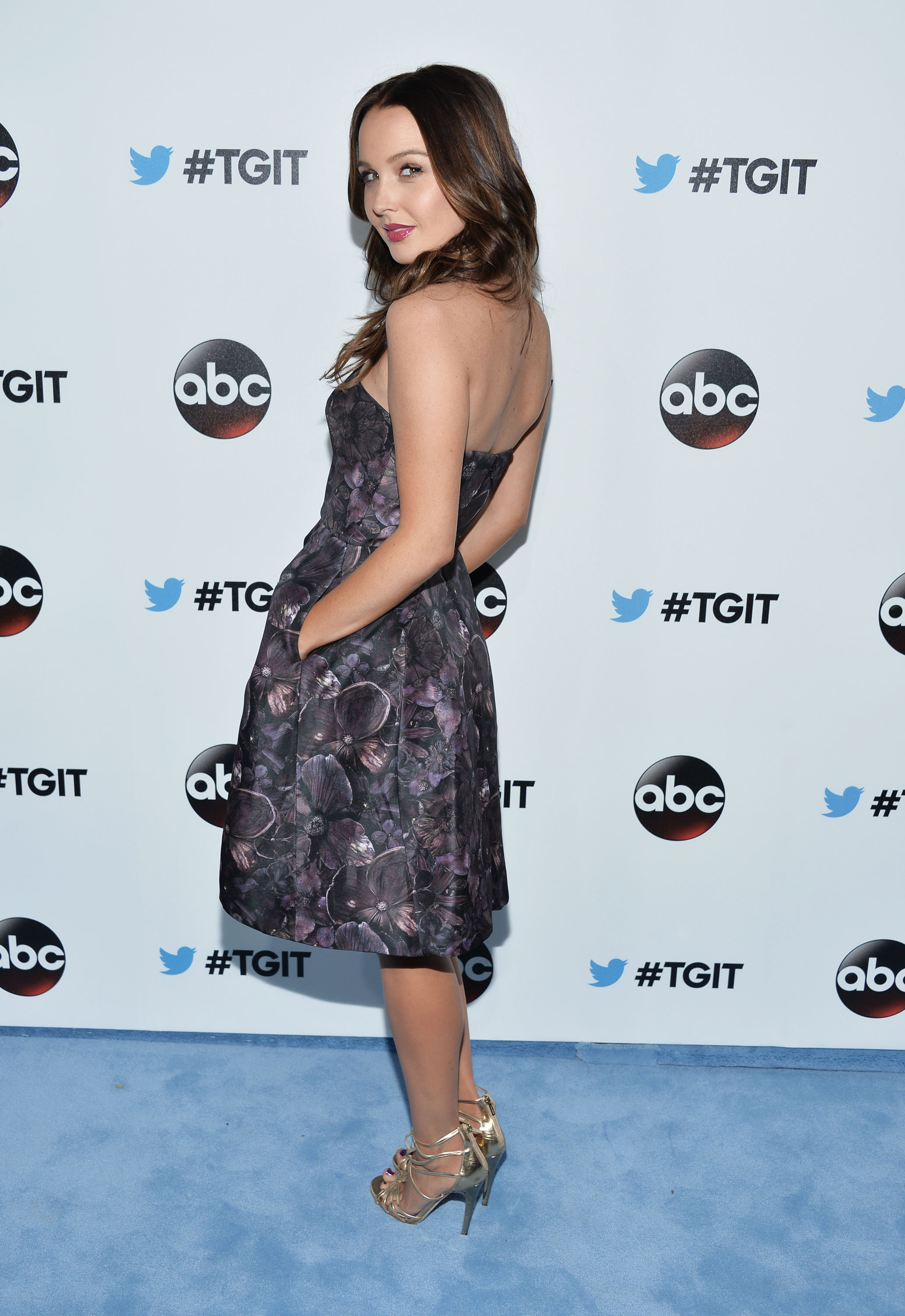 Camilla Luddington at #TGIT Premiere Event hosted by Twitter à West Hollywood
