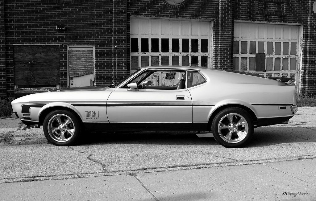 Ford Mustang Mach 1 par AceOBase