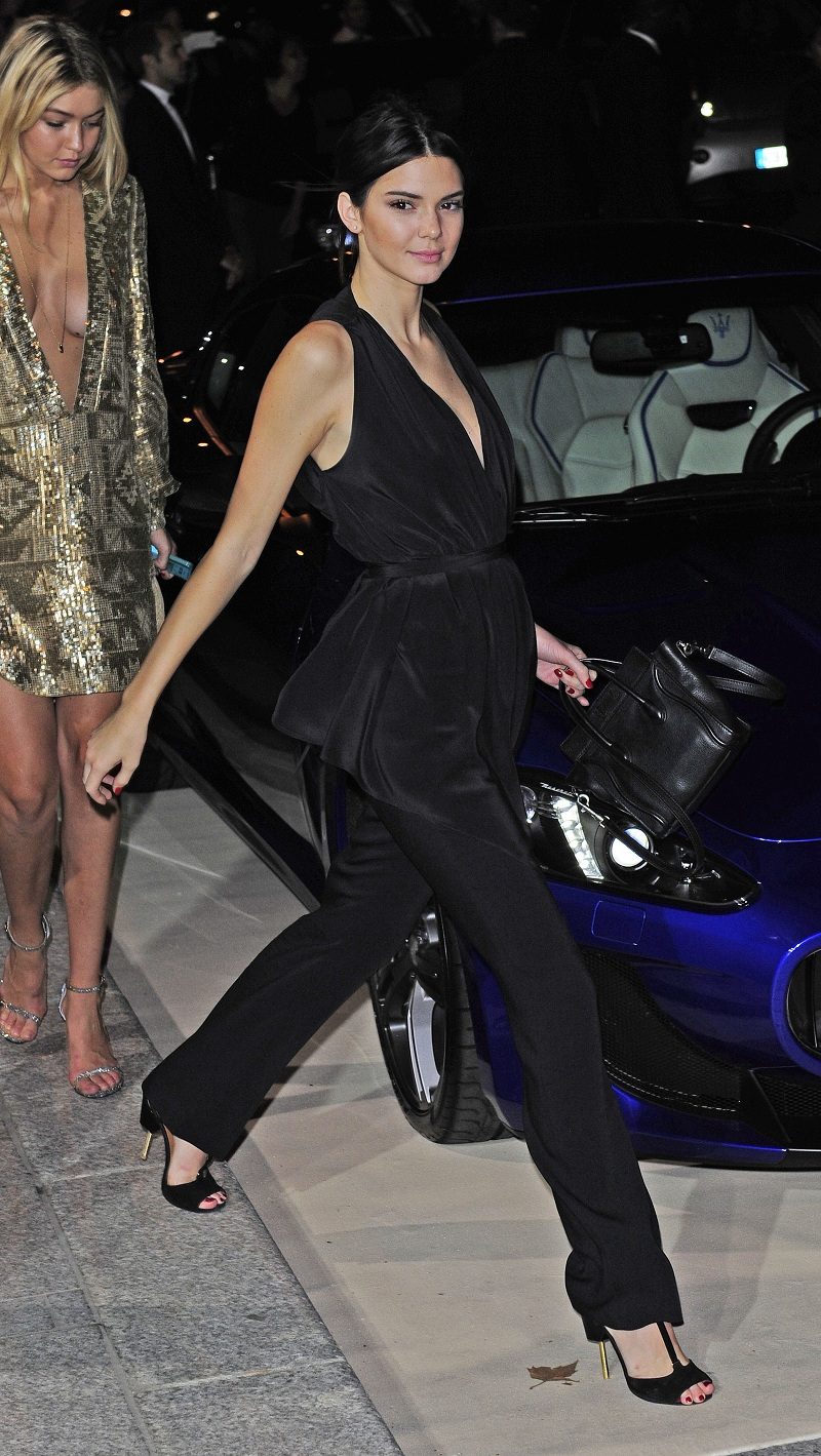 Kendall Jenner at CR Fashion Book Issue N°5 : Launch Party à Paris