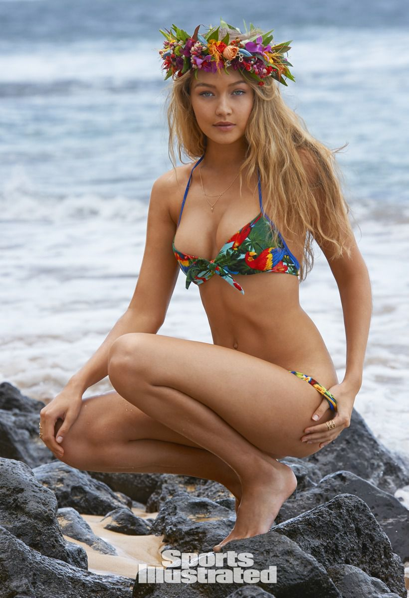 Gigi Hadid in Sports Illustrated Swimsuit Issue 2015