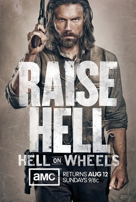 Hell On Wheels - Saison 2 Streaming