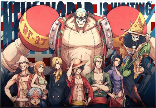 Gallery one piece luffy crew new world - One piece pictures new world ...