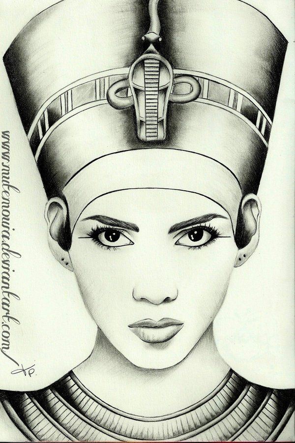 gallery black egyptian queen drawing. Black Bedroom Furniture Sets. Home Design Ideas