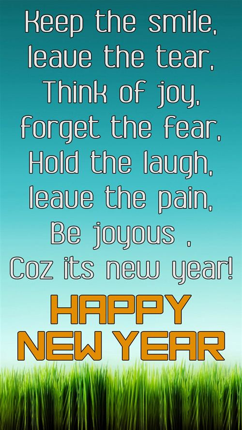 New Year Greeting Message Sample