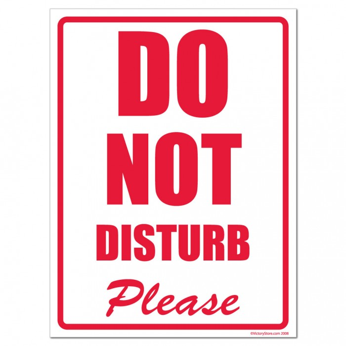Invaluable image intended for do not disturb sign printable