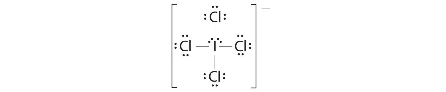 icl2 lewis dot structure
